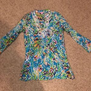 LILLY PULLITZER dress or swim cover up